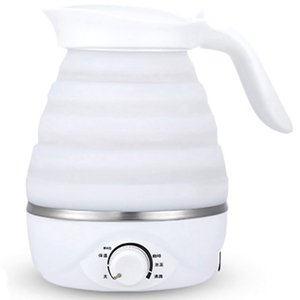 Image 1 - Foldable Electric Kettle Durable Silicone Compact Size 850W Travel Camping Water Boiler Electric Appliances Us Plug
