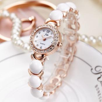 JW 2019 New Arrival Quartz Watch Women Luxury Brand Rhinestone Bracelet watches Ladies Fashion Stainless Steel Gold Wristwatches цена 2017