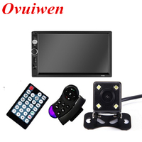 2 Din Car Radio Autoradio 7 HD Multimedia Player Touch Screen Auto Audio Car Stereo MP5 Bluetooth USB TF FM Rear View Camera