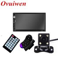 2 Din Car Radio Autoradio 7 HD Multimedia Player Touch Screen Auto Audio Car Stereo MP5 Bluetooth USB TF FM Rear View Camera
