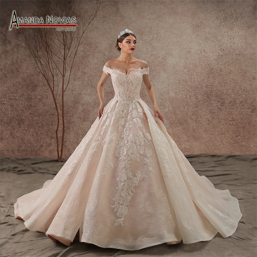 Best Time To Buy Wedding Dress: Aliexpress.com : Buy New Model 2019 Off Shoulder Lace