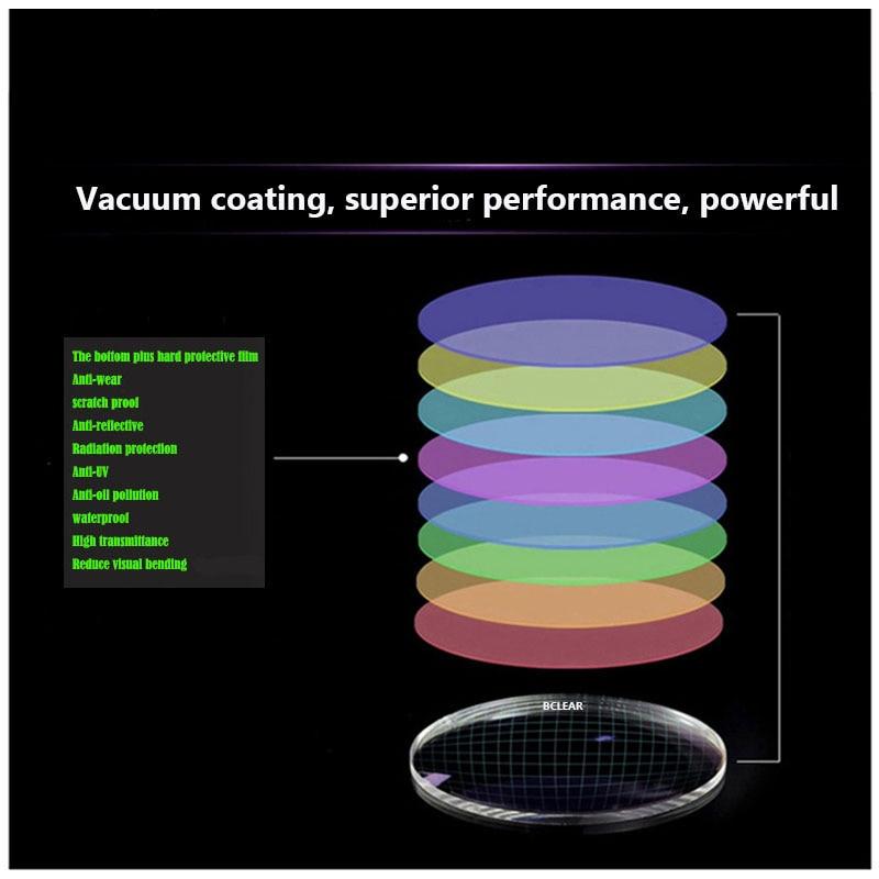 BCLEAR 1.61 Índice Lentes de resina Lente óptico UV400 Lente con - Accesorios para la ropa - foto 2