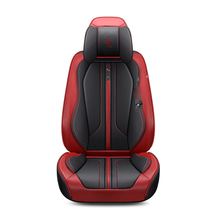 For Citroen C3-XR C4 C4L C5 C6 C-Elysee 3D Full Surround Design Sports Cushion Wear-Resistant Leather Car Seat Cover For 5 Seats цена