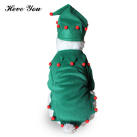 Heve You Clothing For Small Dogs Funny Christmas Dog Clothes Set Pet Cats Festival Clothes Puppy