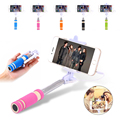 Universal mini selfie stick teléfono móvil trípode de cámara remota auto-fotografía selfie extensible flexible portátil de mano monopod