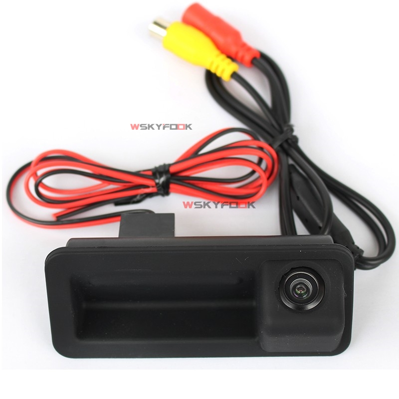 Color HD Car Trunk Handle Reverse Rear Camera for Ford focus hatchback Mondeo and Freelander 2