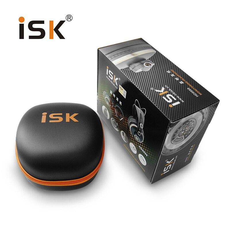 Luxueux confortable ISK HD9999 entièrement inclus moniteur casque écouteur pour DJ/audio mixage/enregistrement studio surveillance