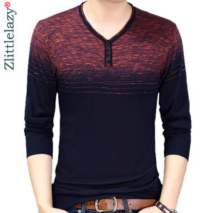 Men Sweater Pullover Designer Striped Clothing Mensthin-Jersey Slim-Fit Fashion 10038