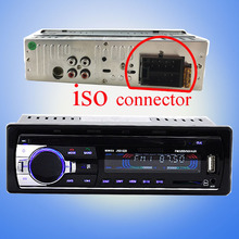 12 V Coche sintonizador Estéreo Teléfono bluetooth FM Radio MP3 Reproductor de Audio USB/SD En El Tablero 1 DIN música audio auto de alta calidad