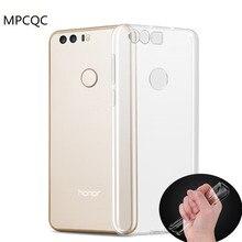 Mpcqc для Huawei P10 плюс P8 Lite 2017 честь V9 V8 Pro Nova молодежи P9 6X 5A 5C 4C прозрачный ТПУ телефон случае Мягкая Обложка Сумки