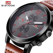 Relogio Masculino 2019 Mens Watches Top Luxury Brand Waterproof Sports Military Watch Men Fashion Leather Quartz Male Wristwatch цена и фото