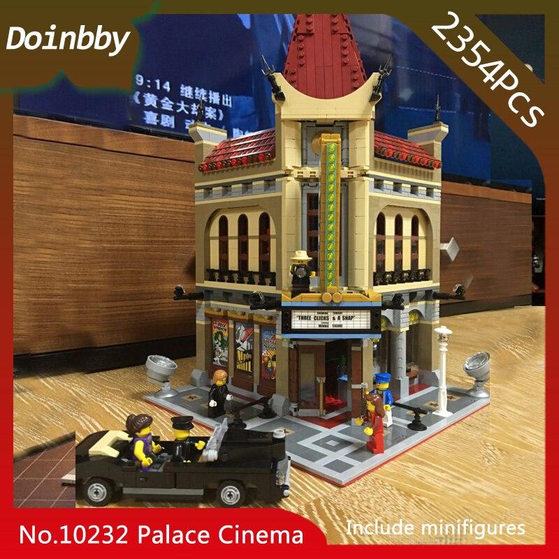 En Stock 15006 Créateur Série TCL Chinese Theatre Palais Cinéma Modèle Blocs De Construction 2354 pièces Compatible avec Legoings 10232