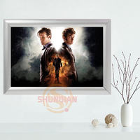 Doctor Who Aluminum Alloy Frame Customized GIFTS Canvas Printing Supplies Frame No Frame H0317mex88