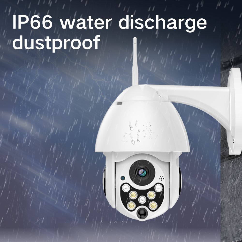 Image 5 - SDETER 1080P PTZ IP Camera Outdoor Speed Dome Wireless Wifi Security Camera Pan Tilt 4X Zoom IR Network CCTV Surveillance 720P-in Surveillance Cameras from Security & Protection
