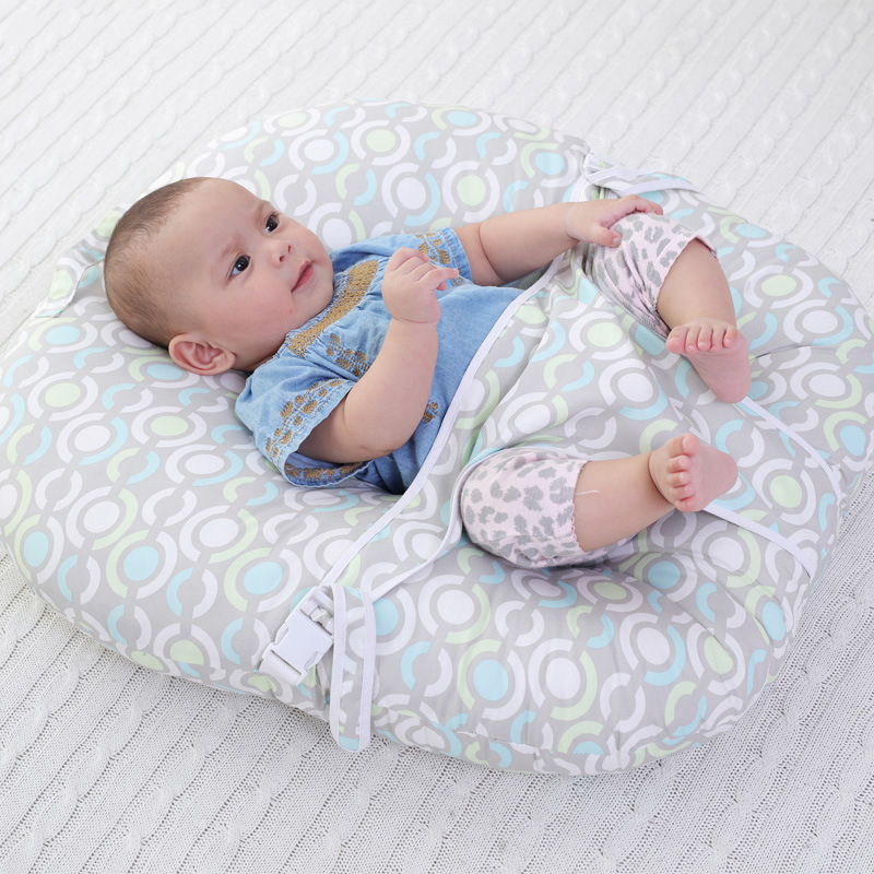 Fashion Cute Infant Baby Support Seat Soft Cotton Travel Car Seat Pillow Cushion Toys Baby Seats Sofa for 0-2 Years