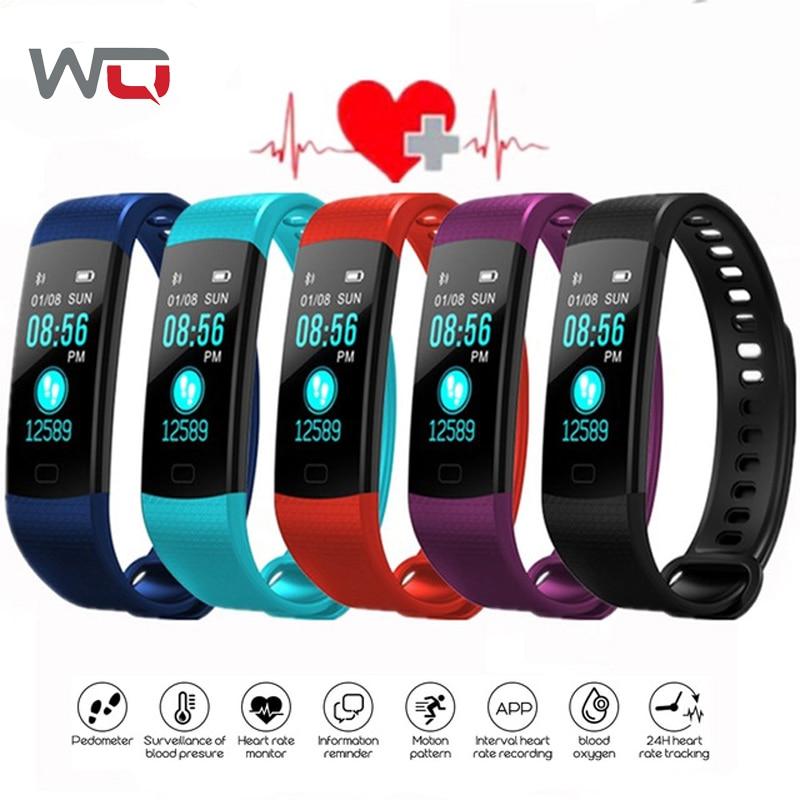 WQ Y5 Smart Band Heart Rate Band Blood Pressure Bracelet Fitness Tracker Smart Bracelet Passometer Activity Tracker Smart Band