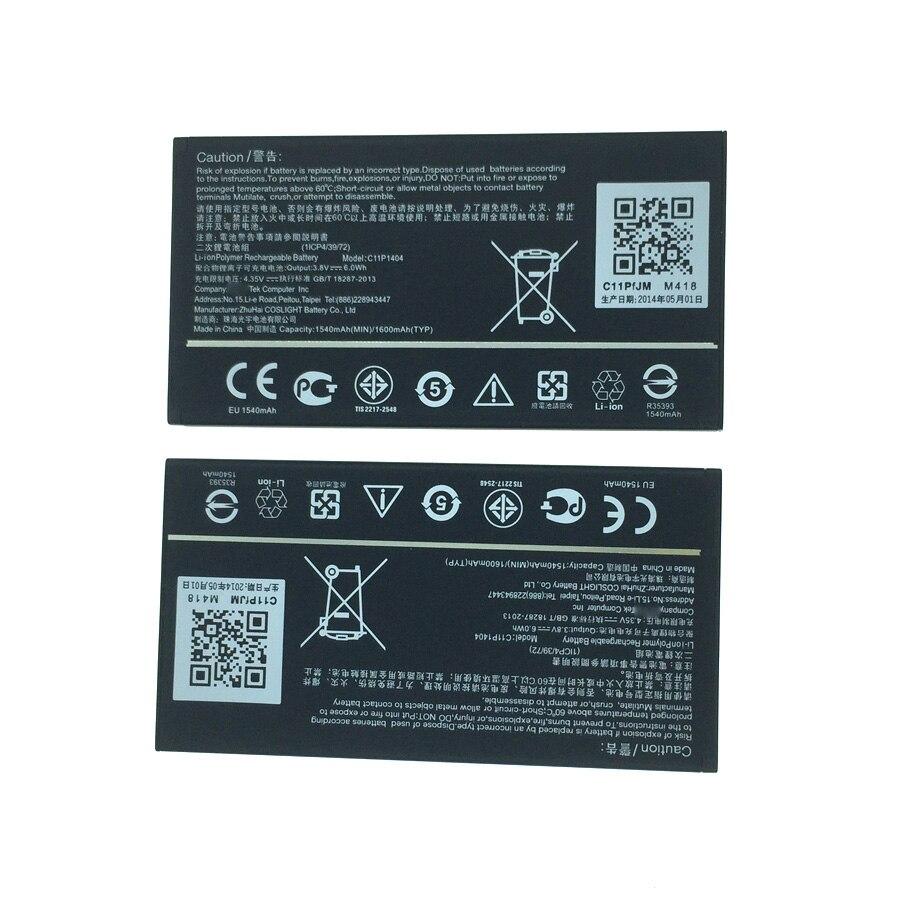 Wisecoco C11P1404 B11P1415 1600 mAh batería para ASUS ZenFone 4 A400CG ZenFone 4,5 ZC451TG Z00SD con número de seguimiento