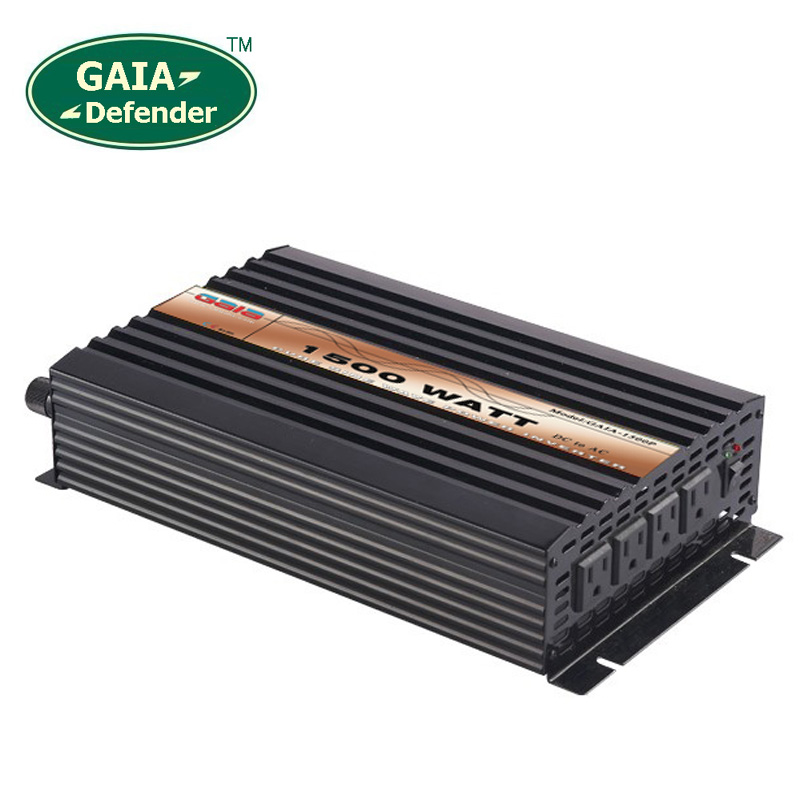 цена на 1500W Pure Sine Wave Power Inverter Peak 3000w off-grid DC12V 24V 48V AC 100V 110V 220V 230V 240V solar wind battery car