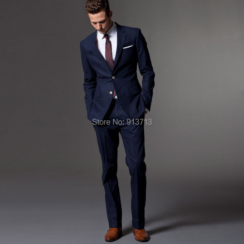 High Quality Dark Blue Suit-Buy Cheap Dark Blue Suit lots from
