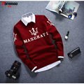 New Winter Warm Wool High Quality Men Sweaters Korean Fashion Full Sleeves O-neck Solid Color Print Soft Cotton Pullover