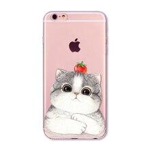 Cute Cat cases / covers for iPhone 6 6s 7 Plus 6sPlus 6Plus 4 4s 5 5s SE
