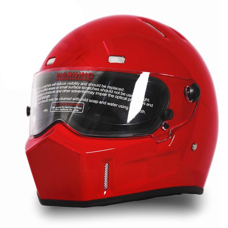 NEW Motorcycle ATV Dirt Bike Helmet Street Kart Bandit Moto Riding Full Face Helmets Motocross MX
