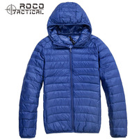Men S Outdoor Extra Light Portable Packable White Duck Down Jacket Thermal Duck Down Coat Autumn