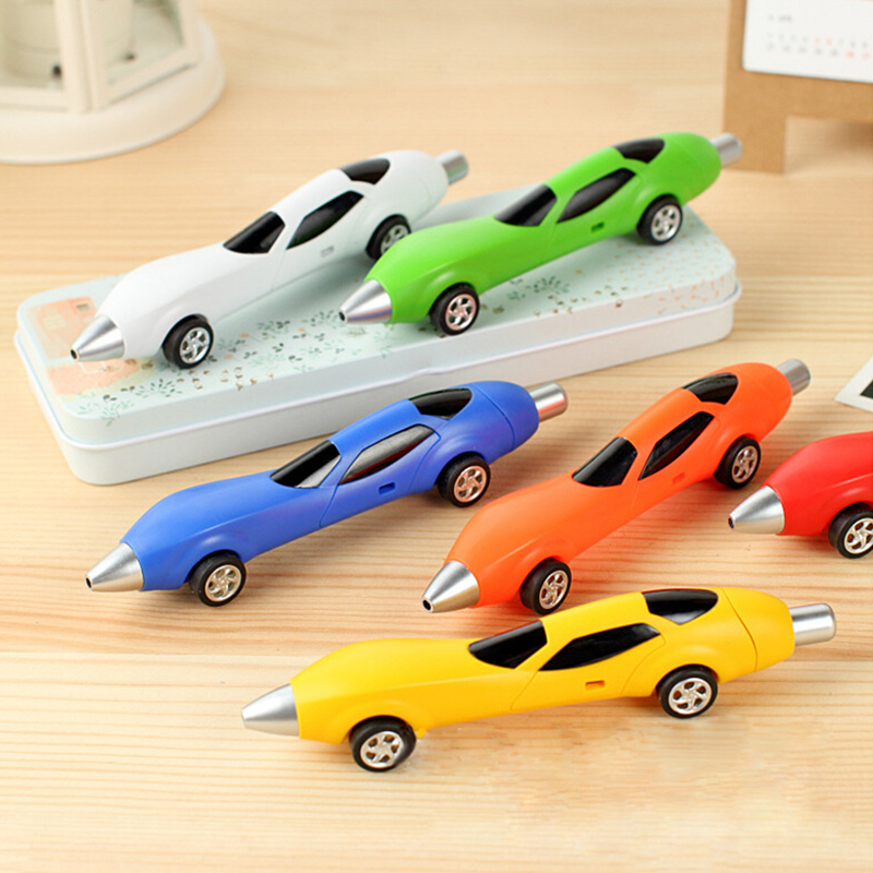 Pack of 12 Pcs Cute Cool Racing Car Shape Personalized Ballpoint Pens Office School Supplies Students Children Gift miracool neck bandana re usable 100 s of times keeps you cool red 2 pack