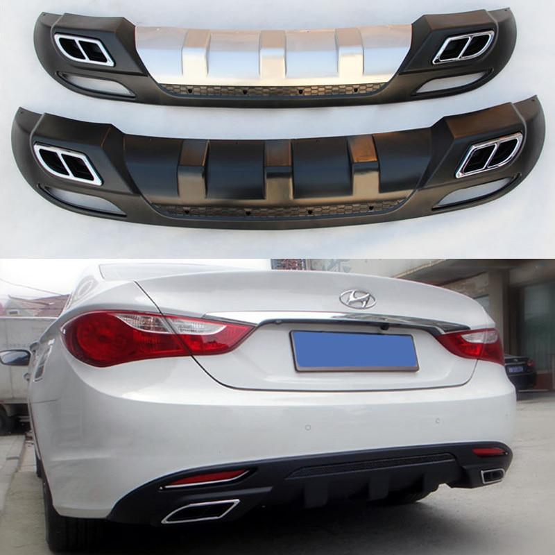Fit For Hyundai Sonata 2011 2013 Rear Bumper Diffuser