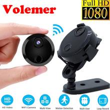 Volemer Wifi Mini Camera IP Network Camcorder 1080P Wide Angle 150 Degree Invisible Video Recording Motion Detection Micro Cam