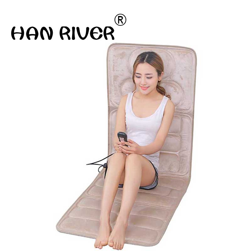 Cervical chiropractor Neck/waist/shoulder/back Electric massage pad Household mattresses Chair cushion b12 6d airbag massage chair body back waist and neck cervical multifunctiona vertebrate massagerl chair cushion