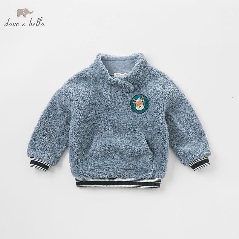 T-Shirt Dave Bella Toddler Top Infant Baby Autumn Boys Kids Children Fashion DBK8365