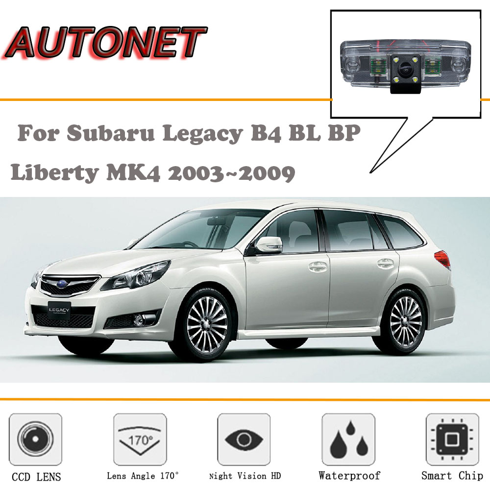 Autonet Backup Rear View Camera For Subaru Legacy B4 Bl Bp Liberty Wiring Diagram Mk4 20032009 Night Vision License Plate In Vehicle From Automobiles