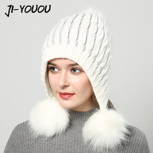 2017 winter hats for women hat with fur women
