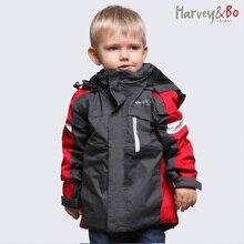 子供ジャケット屋外ボーイ服綿ライナーコートフード付き防水防風秋冬ボーイズジャケット子供の上着