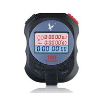 100 memory Electronic Stopwatch Digital Countdown timer professional running stop watch Sports track and field chronograph