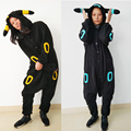 Cosplay Shiny Umbreon Costume Adult Unisex Jumpsuits Rompers Pajamas Costume With Ears Tails Japan Anime Pokemon Umbreon