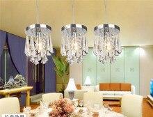 Проход коридор вход терраса ресторан кристалл лампы/современный минималистский кристалл подвесные светильники кухня столовая лампы