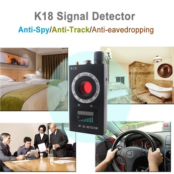 Topvico Full Range Pro Anti - Spy Bug Detector Wireless Camera Lens Hidden Signal GPS Tracker RF GSM Devices Magnetic Finder 3