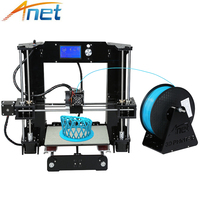 Anet A6 A8 A2 3D Printer High Print Speed Reprap i3 High Precision Toys DIY 3D Printer Kit with Filament Aluminum Hotbed