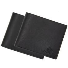 цена на New 2019 Business Fashion Men Leather Brand Luxury Wallet Short Slim Male Purses Money Clip Credit Card Dollar Quality Guarantee