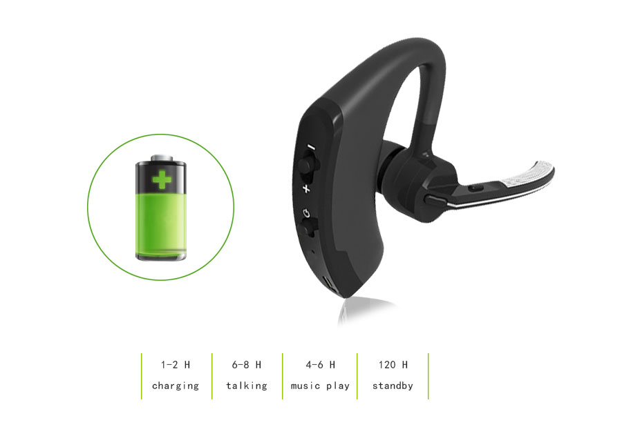 Business Bluetooth Earphone Wireless Handsfree Bluetooth V4.1 Headset With Microphone Headphone Voice For Iphone Sumsung Android_02