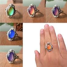 Подарок на день матери кольцо с лунным камнем moood креативные