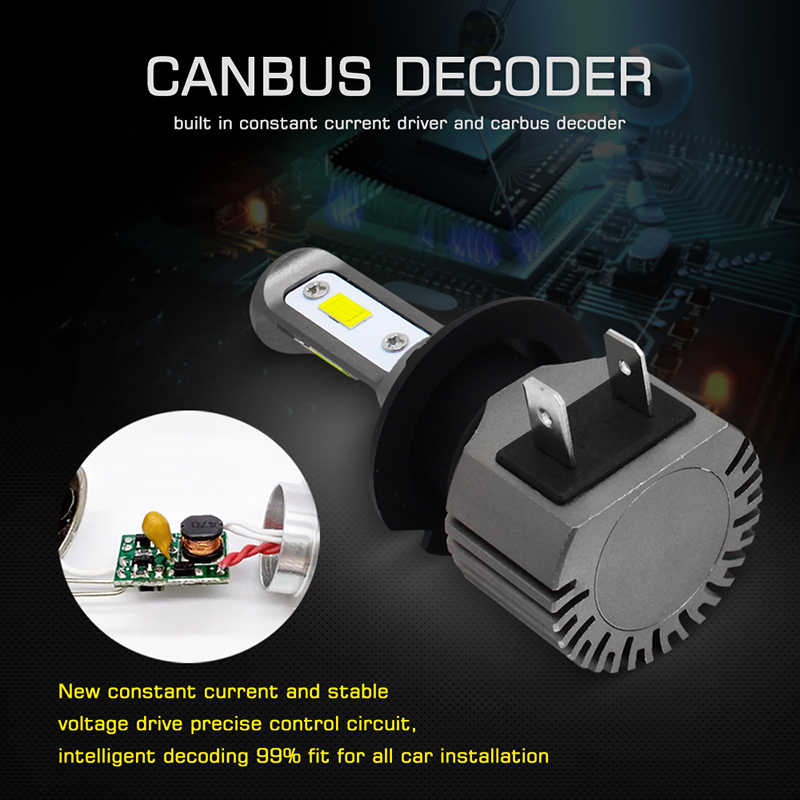 2x 100w H1 H7 H8 H11 9005 HB3 9006 HB4 H16 881 880 3570 Chip Led Bulb Car Fog Driving Lights Lamp External Light Source Canbus
