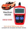 Autel MaxiScan MS309 автомобилей-detector CAN BUS OBD2 Код Читателя Autel MS309 OBDII CODE Reader Сканер OBD2 OBDII Автомобилей диагностический Инструмент
