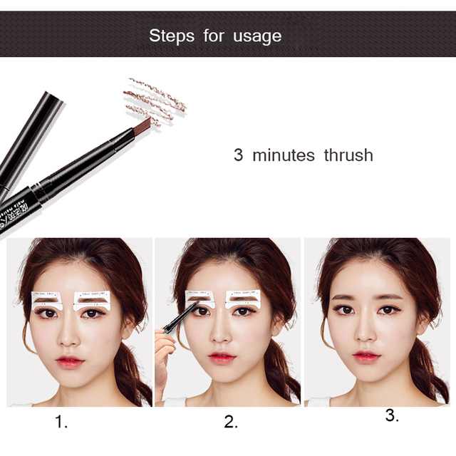8pair/Set Eyebrow Stencil Shaping Tool Models Eye Brow Template Drawing Card Stencil for Eyes Eyebrow Shaper Beauty Makeup Tools 5
