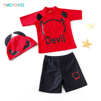 631c5fdcee Onedoyee Baby Boys Swimwear Two Pieces Beach Swimsuit UV Protective  Sunblock Kids Bathing Suit Swimming Suits