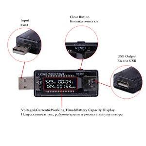 Usb 5 فولت 9 فولت 12 فولت 20 فولت qc 2.0 3.0 lcd الجهد الحالي شاحن السعة تستر usb شاحن طبيب نص السلطة متر الفولتميتر 15% ٪