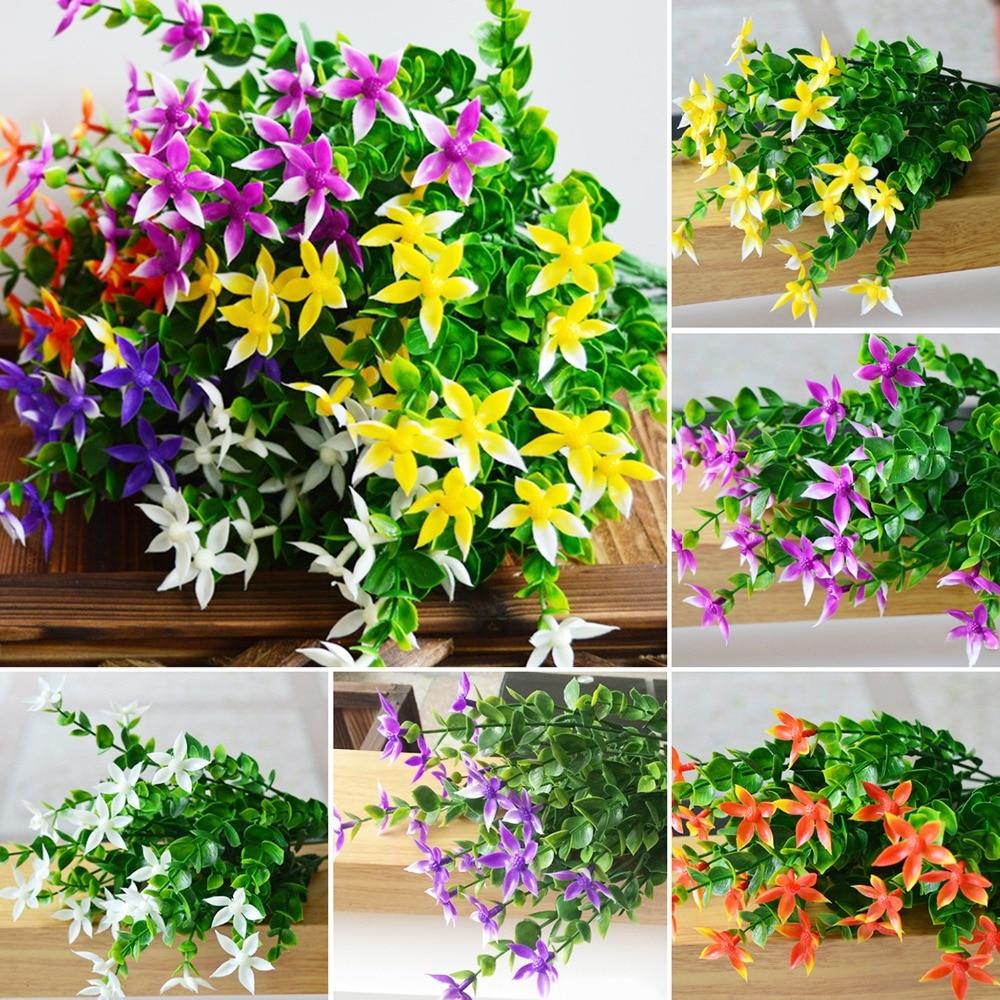 Five Pointed Bouquet Silk Handmake Artificial Flower Head