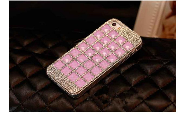 For Huawei P7 case rhinestone mobile phone cases Transparent case protective cover colorful glossy case 17